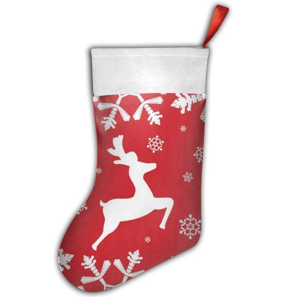 get quotations christmas xmas deer christmas hanging stockingassorted santa gift socks hanging accessories for xmas tree