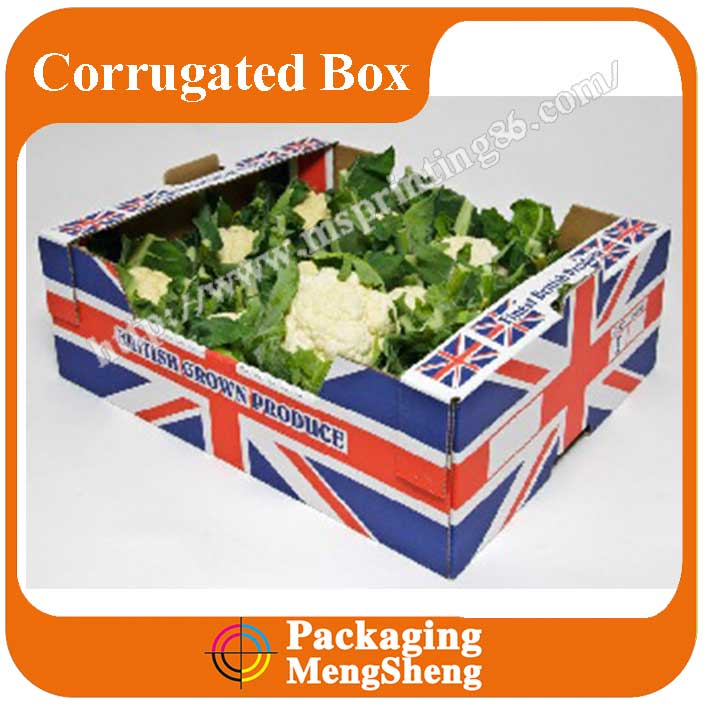 factory price custom Fruit and Vegetable Box/carton box/ corrugated box