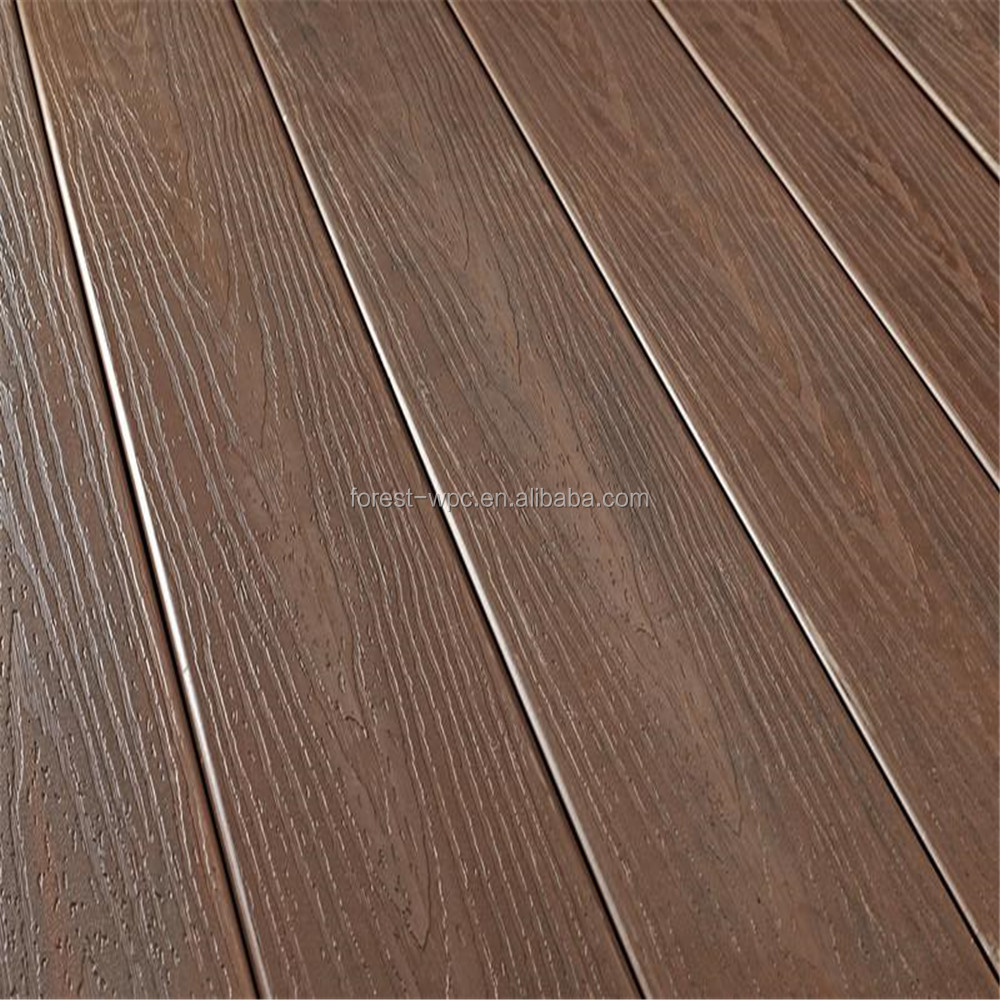 flooring supplier two sides have different colors no painting WPC FRS146H23 decking