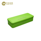 Pencil case custom printed gift rectangle metal tin box