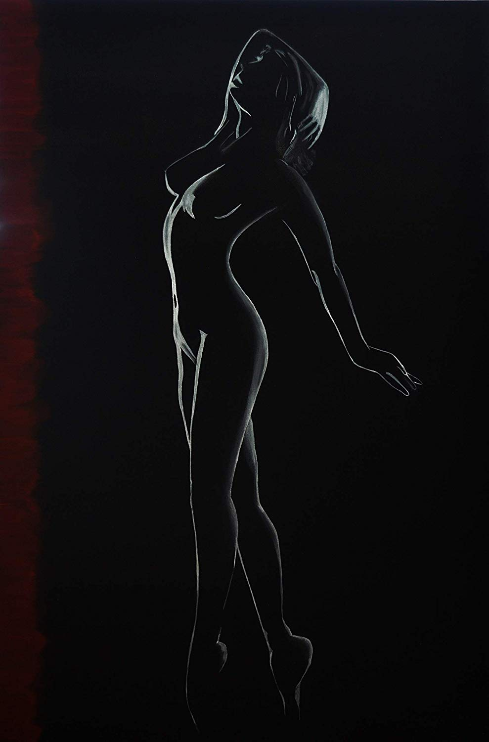 "Title: Essence of beauty, 24""W x 36""H, Original Handmade Artwork, Great gift idea, Certificate of authenticity included"