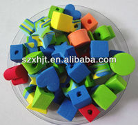 kids color foam beads toy wholesale