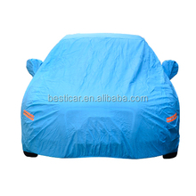 Popular Waterproof Automatic Blue Folding Car Cover