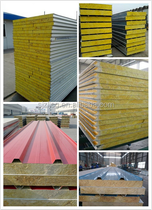Insulated Sandwich Panels 150mm Thick Roof Panels For