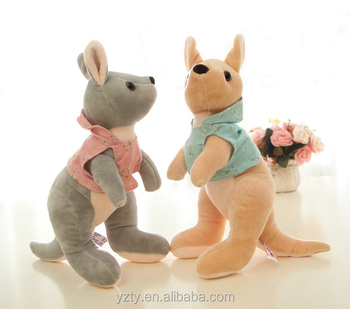 Custom Realistic Animal Toys Plush Kangaroo Buy Plush Kangaroo
