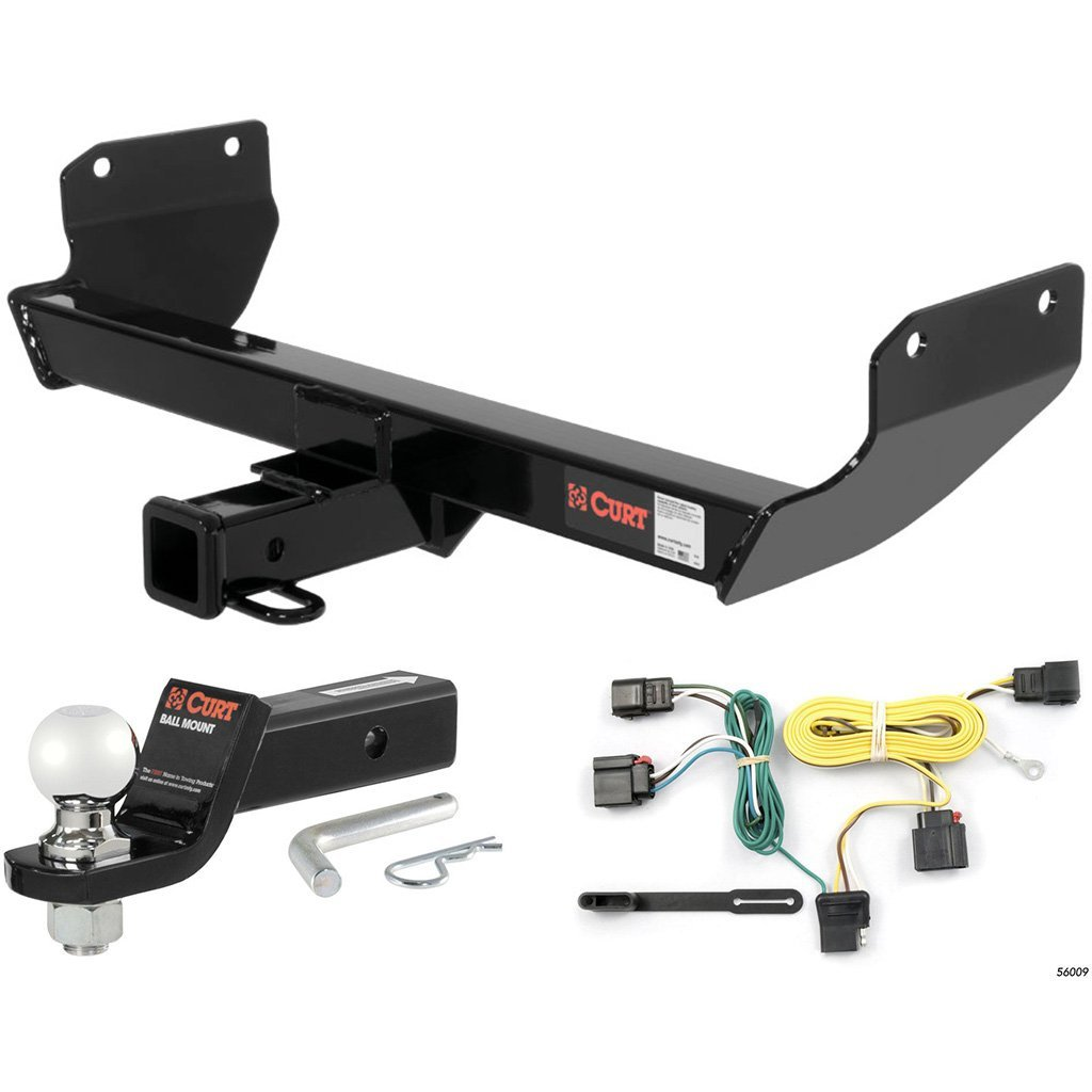 "CURT Class 3 Hitch Tow Package w/ 2-5/16"" Ball for 2011-2013 Jeep Grand Cherokee"