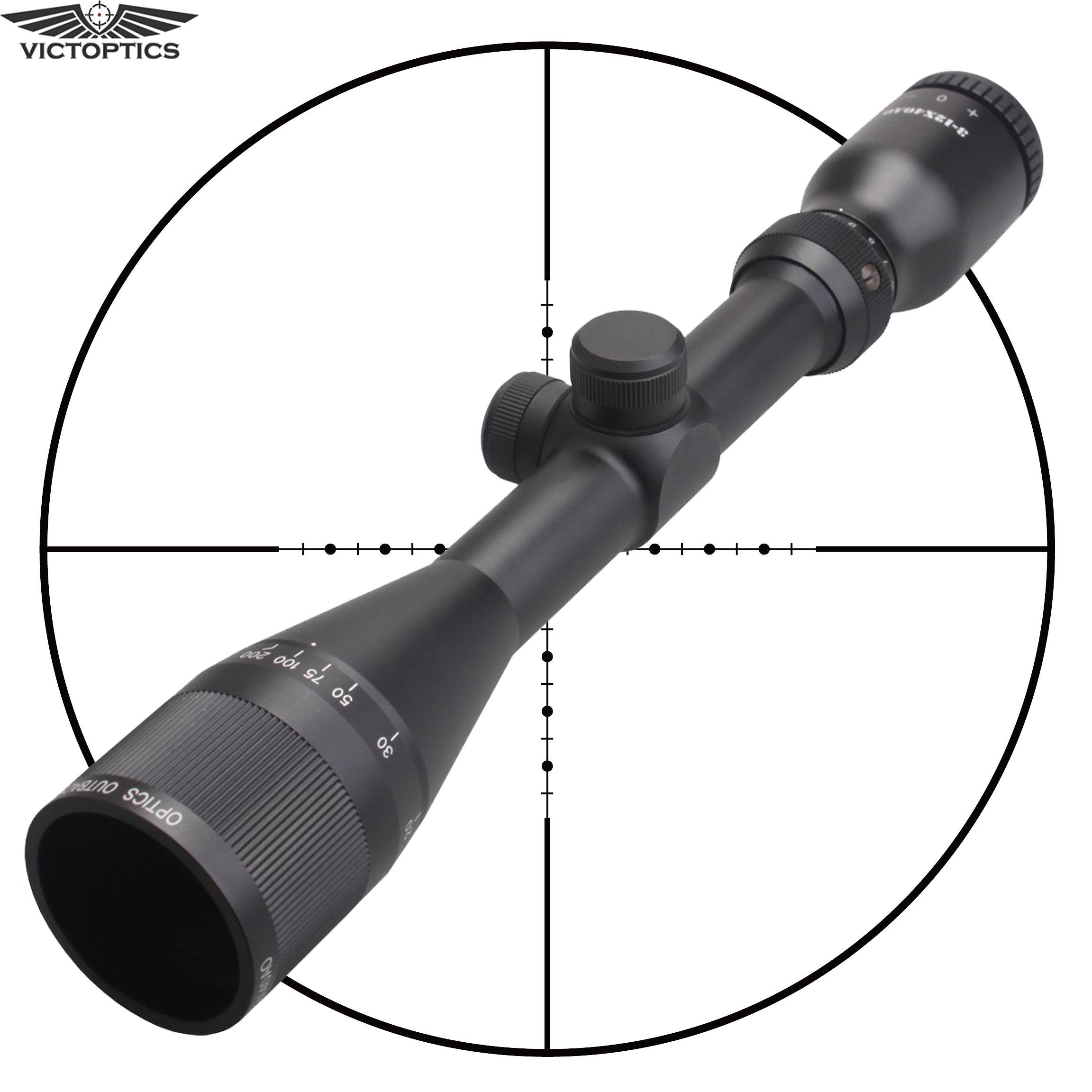 3-12x40 Mil-Dot Rifle Scope Airgun Air Gun Hunting