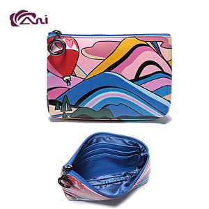 OEM/ODM Custom Printed Personalized Mini PU Wallet coin purse Fancy Kids Wallets