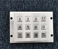 3*4 flat keys brushed USB digital numeric keypads
