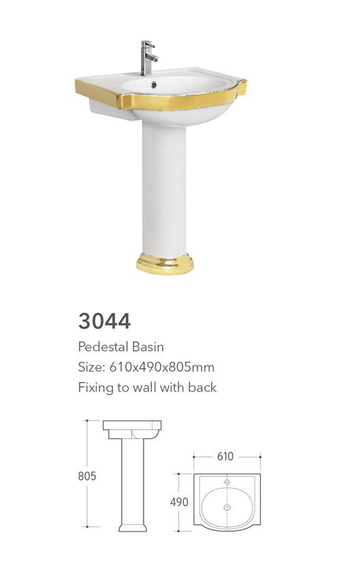 China supplier ceramic bathroom toilet basin bidet three sets sanitary ware suite