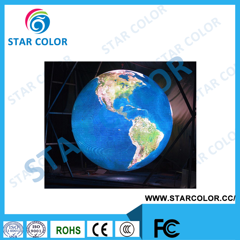 Creative Spherical LED Display with High Quality for Sale indoor P4 360 Global LED Video Ball Screen