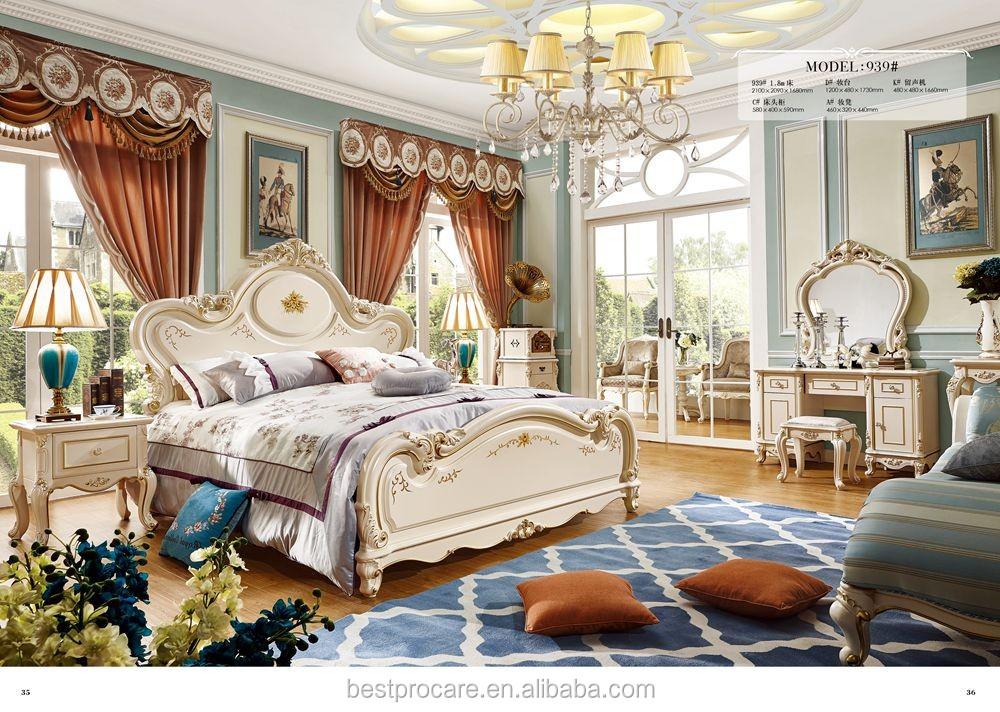 Camere Da Letto Turchese : Noble nuova vita stile classico colore turchese mobili camera da