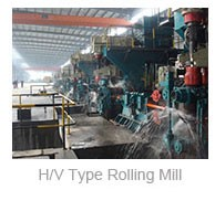 Hot rolling mill for TMT rebar