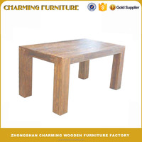 Classical Good Quality Solid Wood Dining Table Home Furniture #6221