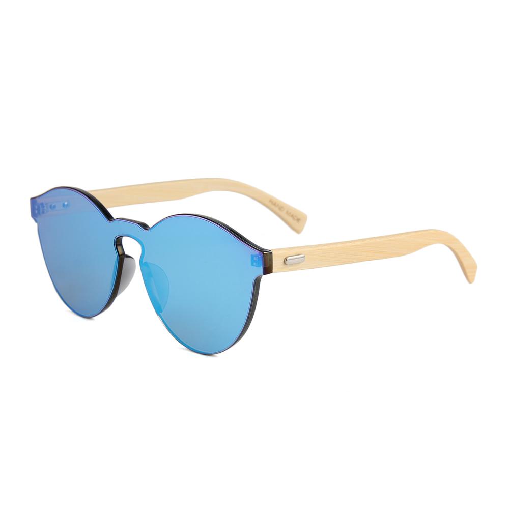 flat lens bamboo temple eco friendly international brand sunglasses, Customize