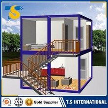 Factory Direct Low Price Fireproof and waterproof granny flat container house price prefab cabins cottages