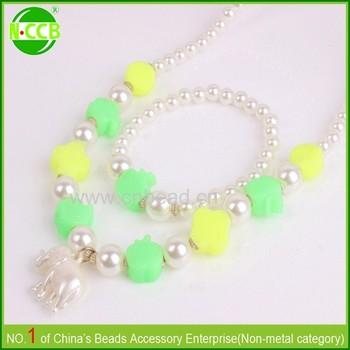 Latest Design Pearl Costume Jewelry Mini Children Gps Tracker Necklace