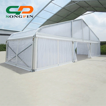 buy online 27630 786b6 Clear Pvc Tennis Court Tent In Peach Shape Aluminum Structure Frame With  White Ceiling Lining For Reception - Buy Tennis Court Tent,Clear Tent,Peach  ...