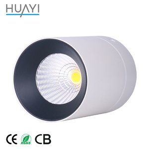 Adjustable 21W Surface Mounted Ceiling Spot Lamp Round Down Light COB LED Downlight