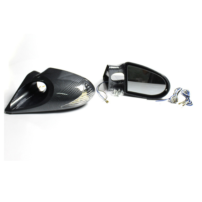 Mparts Manual Side Mirror Mirror, Balap Mobil Side Mirror, Kaca Spion Mobil