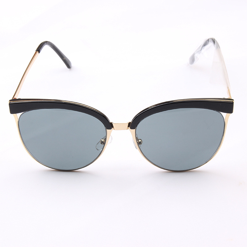 2017 trend hot selling wholesale glasses sun for women custom logo fashion ladies sunglasses