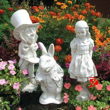 Marvelous Resin Cartoon Statue,fiberglass Fairy Garden Statues