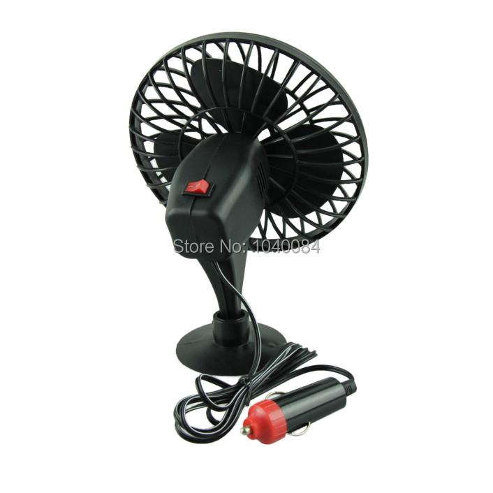 Привлекательный 12 питание от Mini автомобиль грузовик автомобиль охлаждение воздушный вентилятор автомобиль всасывающим - чаша вентилятор июнь 16