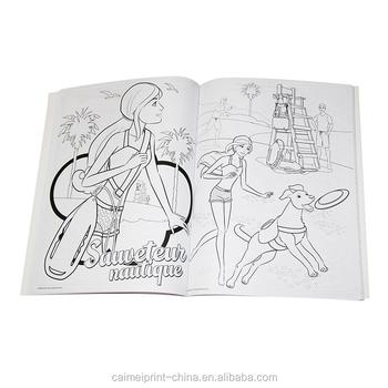 özel Boyama Moda Tasarım Top Model çizim Kitabı çocuklar Baskı Buy
