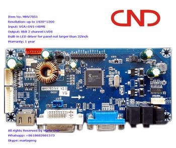 Fps/rts Hdmi Dvi Vga To Lvds Lcd Led Monitor Display Controller Board - Buy  Lcd Display Board,Led Display Board,Hdmi Led Board Product on Alibaba com
