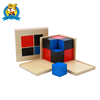 The Wooden educational toy Montessori Materials Binomial Cube for kids