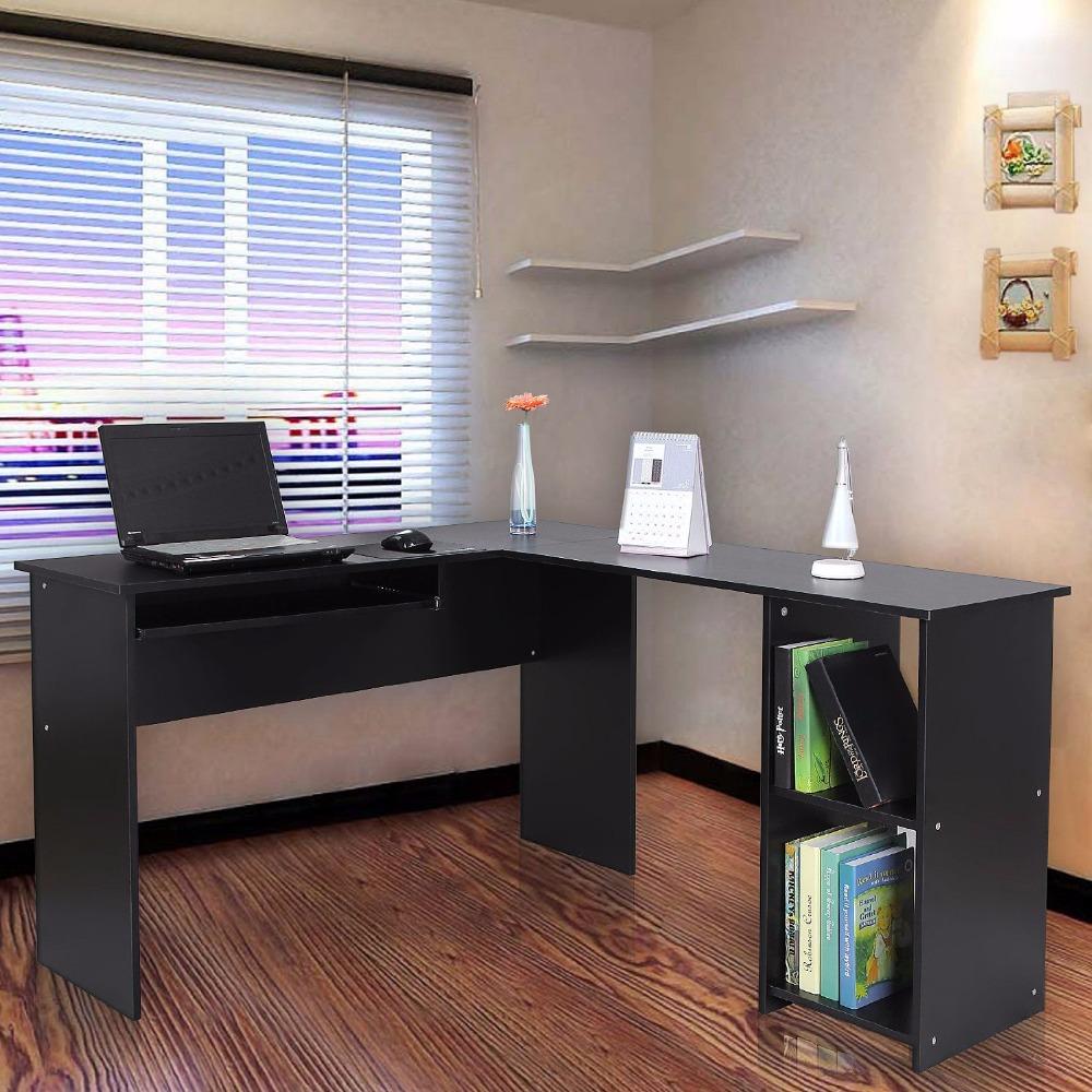 Venta caliente melamina mdf muebles de oficina esquina - Muebles de ordenador ...