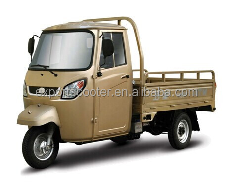 Hot cargo tricycle with cabin 200cc Single cylinder, water-cooled, 4-stroke van cargo tricycle