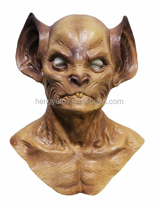 Wholesale Latex Zombie Mask Halloween Moster cosplay costume