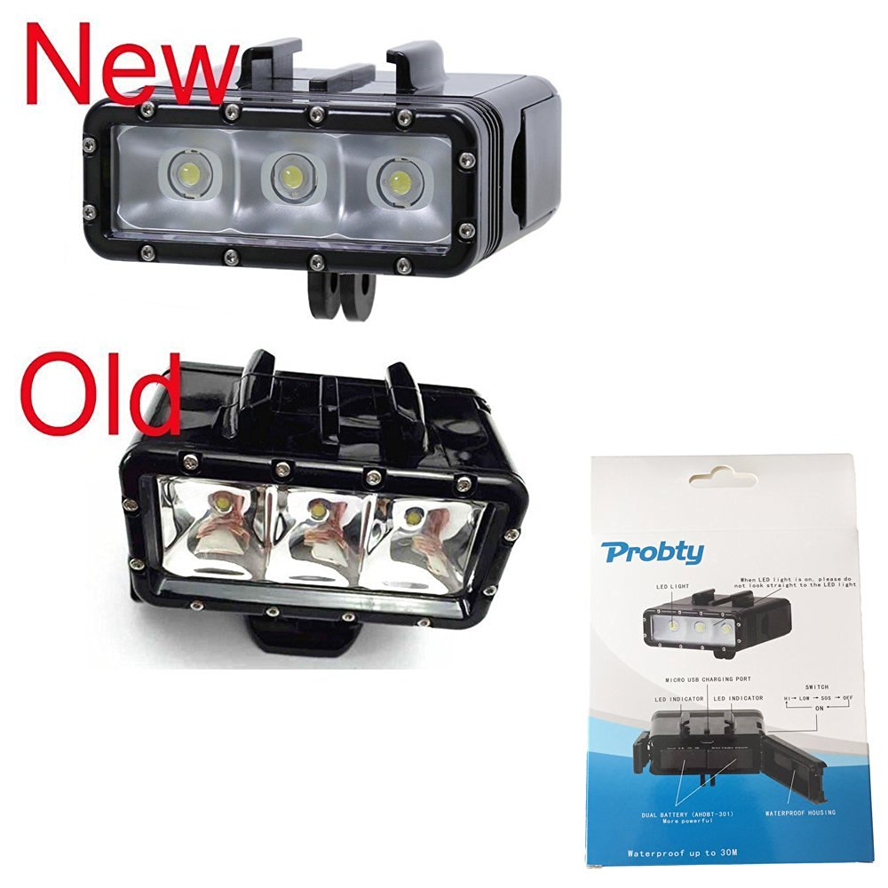 With GoPro Compatible Mount Cleanskin Duo 2200 Lumen Front LED ...