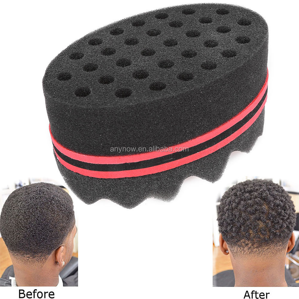 New Fashion Hair Braid Twist Sponge Fir Afro Dreadlocks Curl Brush Sponge Hair Braiders Tool Quality And Quantity Assured Hair Care & Styling