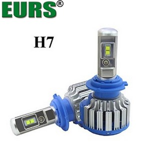 EURS auto IP68 6000K 7000lm 70W H27 HB2 HB3 HB4 9004 9005 9006 9007 9012 880 h1 h7 h3 H8 H9 h11 T1 automotive LED headlamp