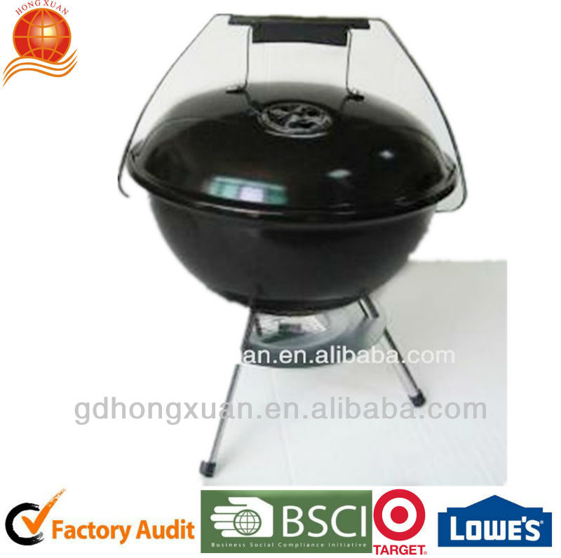 14'' Apple Shape Bbq Grill,Barbeque Charcoal Grill,Small Size Bbq ...