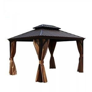Pavilion Gazebo Wholesale, Canopy Rattan Gazebo Outdoor Garden