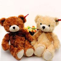 35cm Plush Teddy Bear Stuffed Kids Toys Soft Brinquedos Kawaii Sitting Teddy Bears Dolls with Bowknot Children Gifts 4 colors
