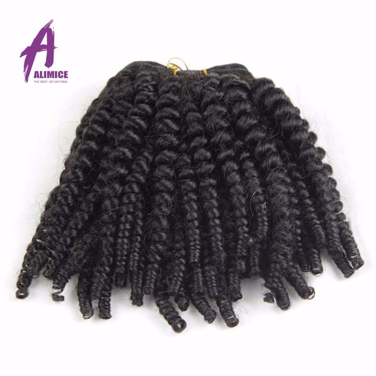 Best Selling Products In Nigeria Top Quality Human Hair Weaving Mongolian Afro Kinky Human Hair, Natural black 1b;1#;1b;2#;4# and etc