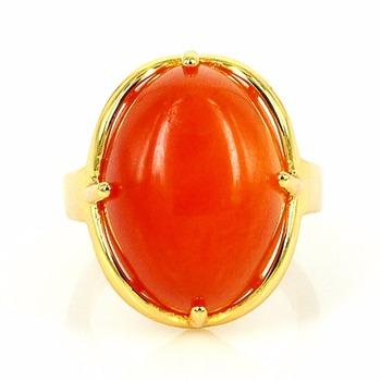 one single stone ring design la s gold finger ring 24K Gold Ring