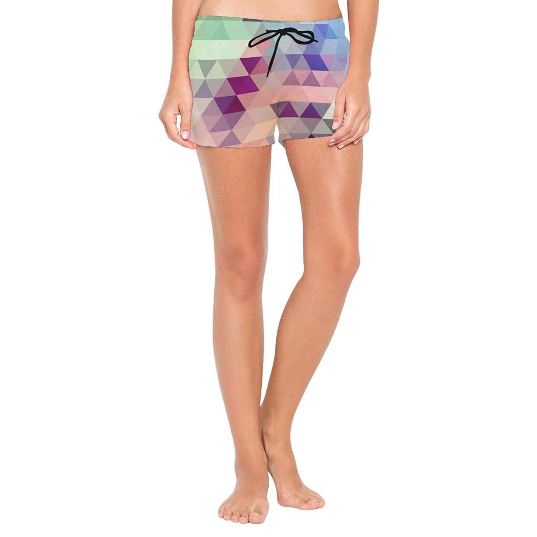 DEYYA Mens Kitty Seamless Pattern Summer Beach Shorts Pants Swim Trunks Board Short for Men