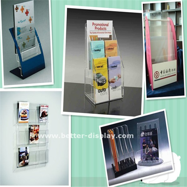 wholesale clear plexiglass acrylic memo cube box