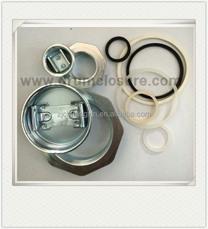 Logo Branded durable metal can lid