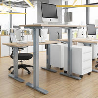 Smart Office Computer Lift Table Electric Height Adjustable Desk With two legs