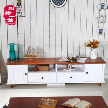 Home Furniture Solid Wood Modern Tv Stand Showcase Made In China