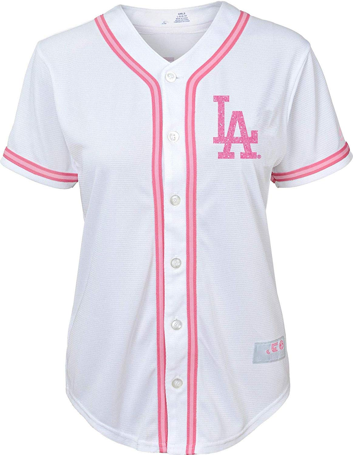 Outerstuff Los Angeles Dodgers Blank Gray Road Youth Cool Base Replica Jersey