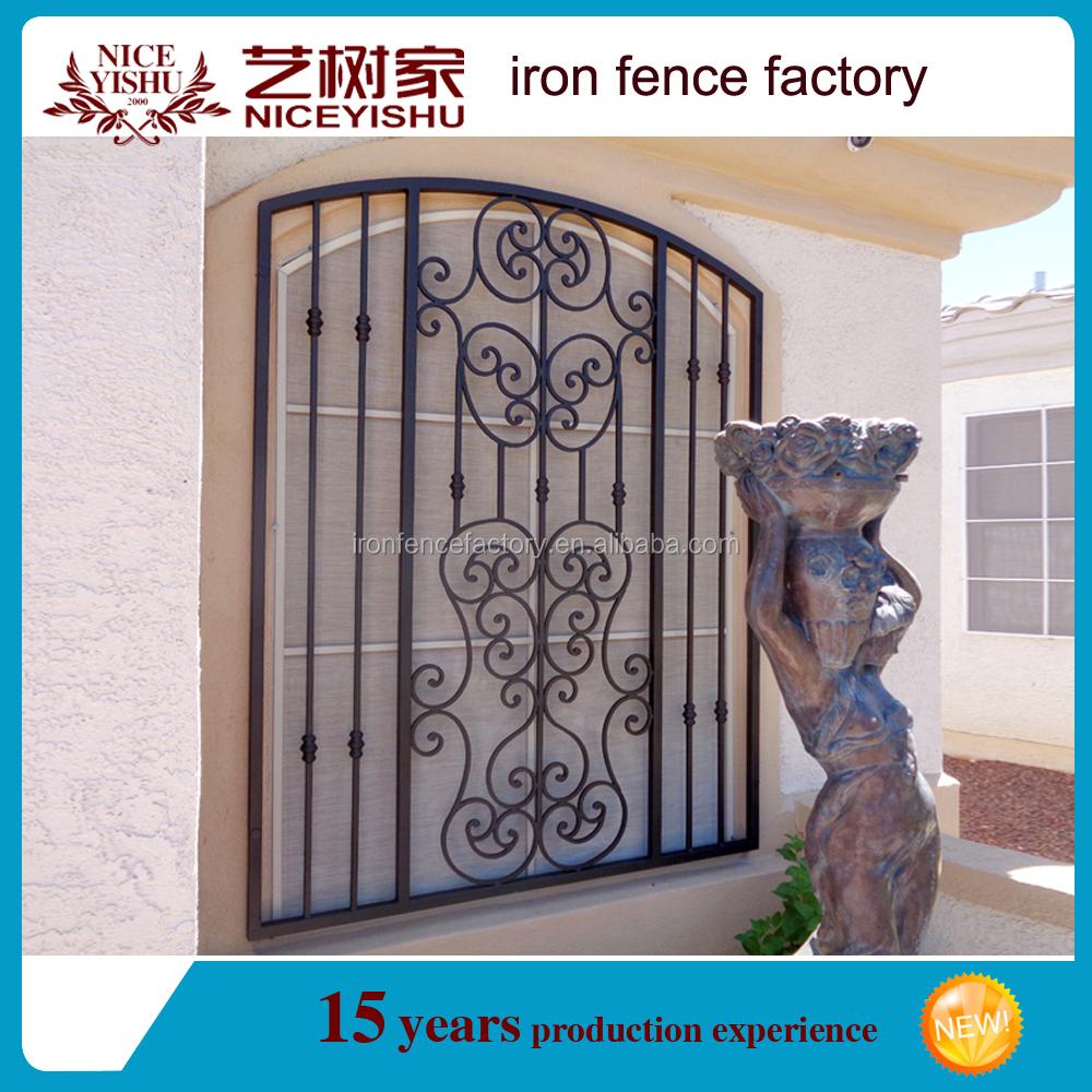 New Design Window Grills/iron Window Grill Design/simple Iron ...