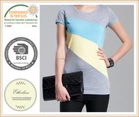 Ladies T-shirt short sleeved turtleneck slim slim all-match casual jacket