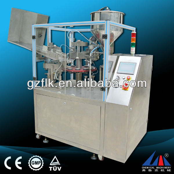 aluminium tube filing machine